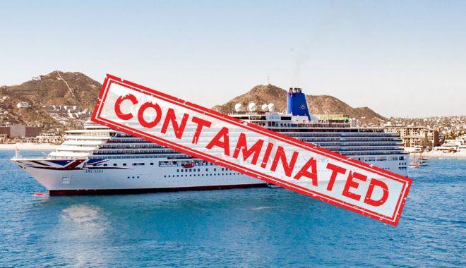 Foto: Coronavirusul afectează grav shipping-ul internațional