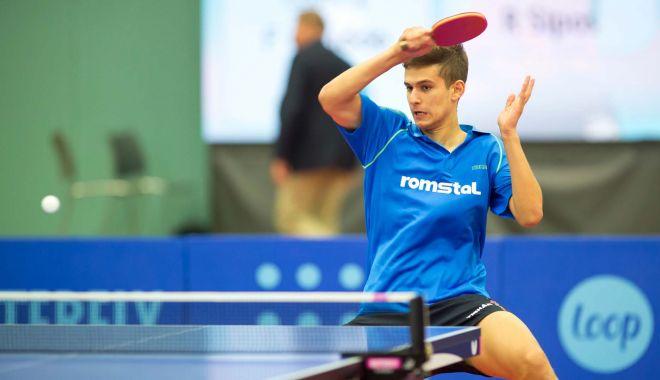 Foto: Cristian Pletea participă la Openul Poloniei la tenis de masă