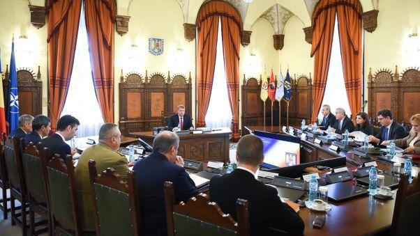 Foto: CSAT se întrunește în ședință. Iată ce subiecte sunt pe ordinea de zi