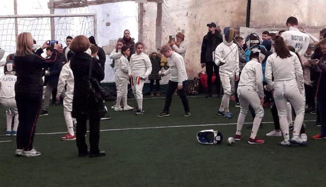 Foto: CS Farul, acțiune de promovare a sportului în școlile constănțene