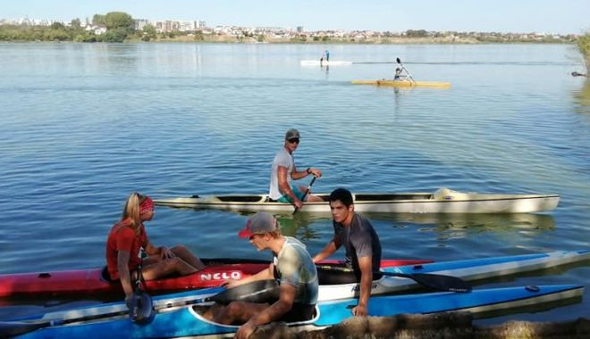 Foto: CS Farul, gata pentru Campionatele Naționale de kaiac-canoe
