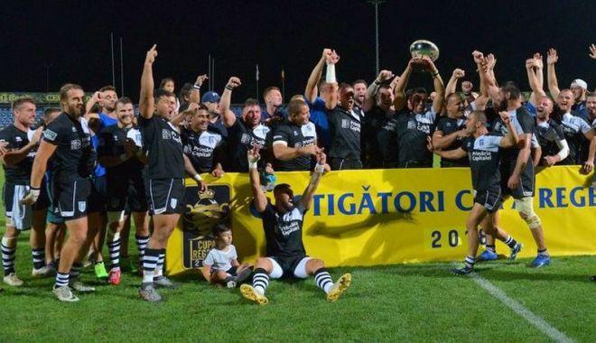 Foto: CSM București a cucerit Cupa Regelui la rugby