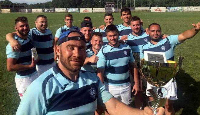 Foto: CS Năvodari, campioana turneului de rugby în 7 de la Belgrad
