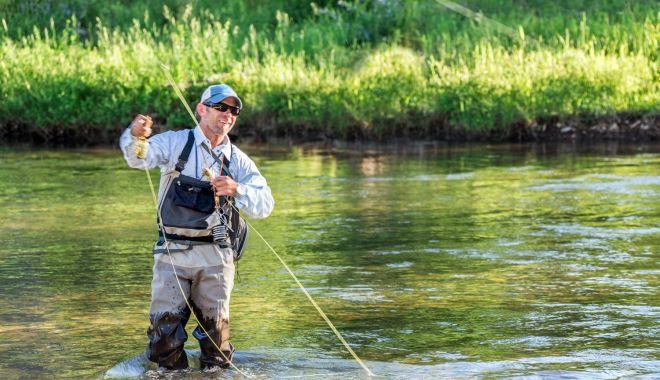 Foto: Cum puteți obține avizul pentru pescuitul sportiv de la Poliția de Frontieră