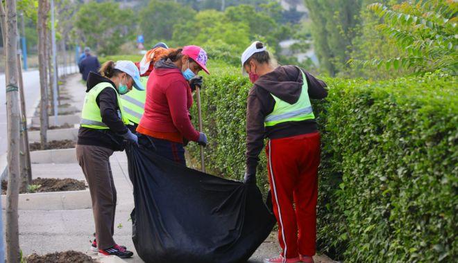 Foto: Curățenia, o prioritate pentru autoritățile din Constnța