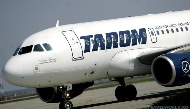 Foto: TAROM: Trei zboruri spre Grecia, anulate din cauza grevei