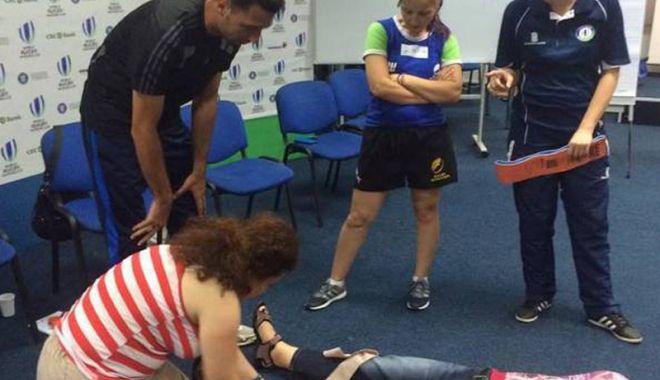 Foto: Cursuri de prim ajutor certificate World Rugby,  în această lună,  la Constanța