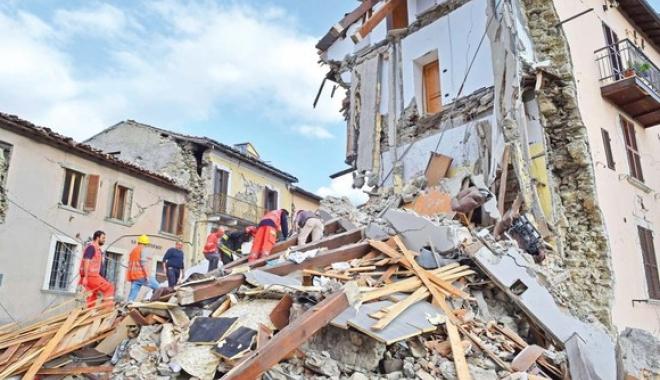 Foto: Coșmarul din Italia continuă. CUTREMUR de 4,2 grade în Amatrice