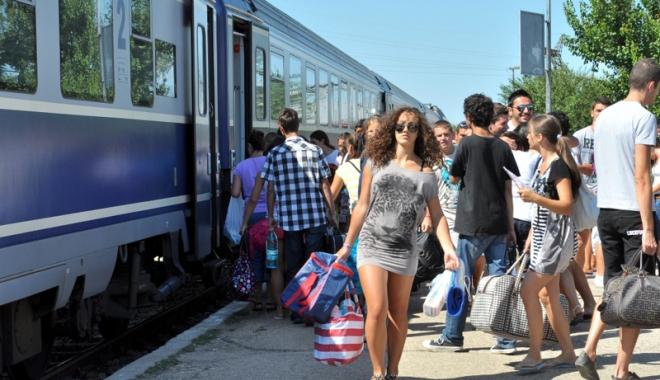 TRENURILE SOARELUI PORNESC SPRE MARE. CFR Călători lansează astăzi programul estival - cutrenullamare1465739224-1496985906.jpg