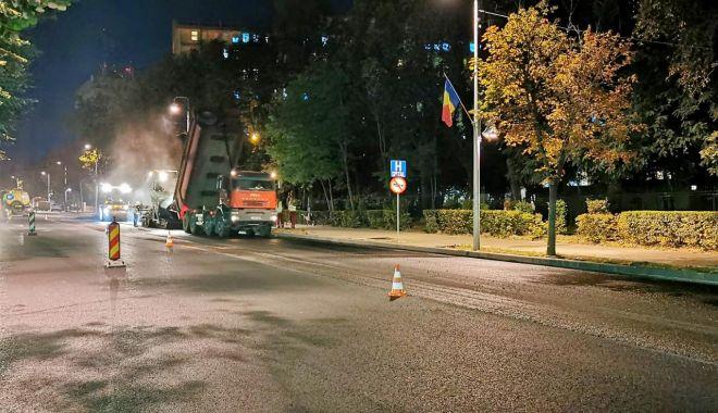 Foto: Atenție, șoferi! Restricții de trafic pe bulevardul Tomis, la noapte