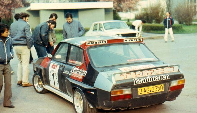 Foto: La fel de îndrăgit precum Niki Lauda sau Ayrton Senna. Pilotul de legendă de pe Dacia Sport Turbo