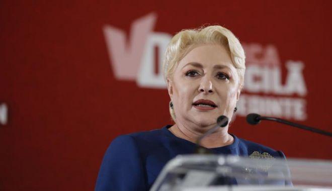 """Foto: Viorica Dăncilă: """"Liviu Dragnea a avut și lucruri bune și lucruri rele"""""""