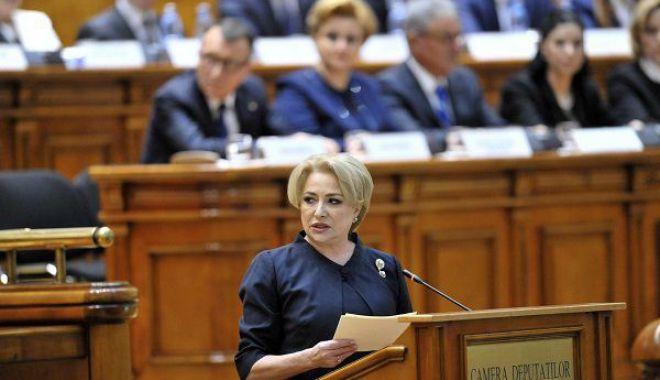 Foto: Când se votează moțiunea de cenzură împotriva Guvernului Dăncilă