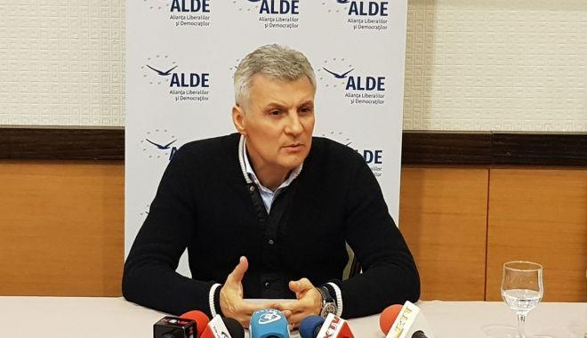 """Foto: Parlamentarul Daniel Zamfir: """"Nu plec din ALDE"""""""