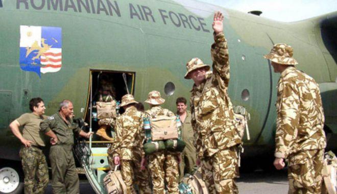Foto: NE PRIVEȘTE ȘI PE NOI! Militari români din Irak, relocați