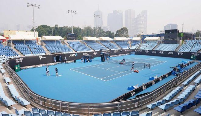 Foto: Australian Open, sabotat de incendiile de vegetație! Antrenamente și meciuri suspendate