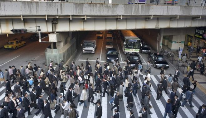 Foto: Progres în Japonia: cel mai coborât nivel din ultimele decenii!