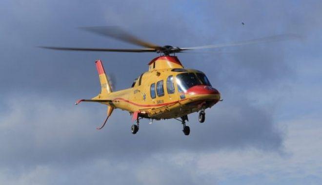 Foto: I s-a făcut rău pe șantier! Român dus la spital cu elicopterul, în Italia