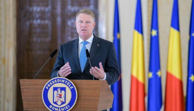 Foto: Klaus Iohannis cere Parlamentului sesiune extraordinară