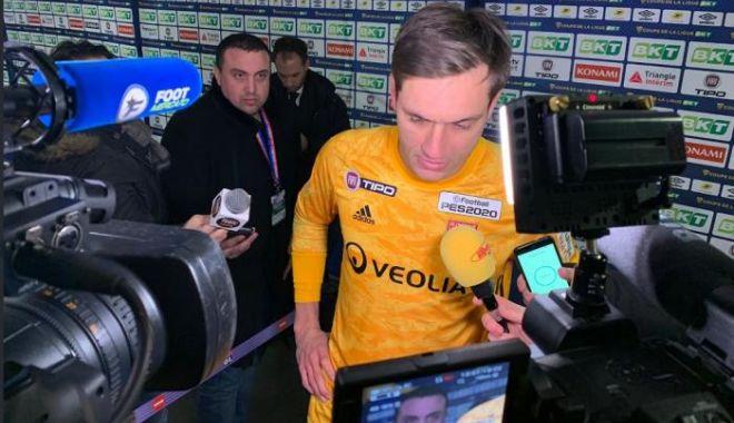 Foto: Tătărușanu, eroul lui Lyon! Și-a calificat echipa în finala Cupei Ligii