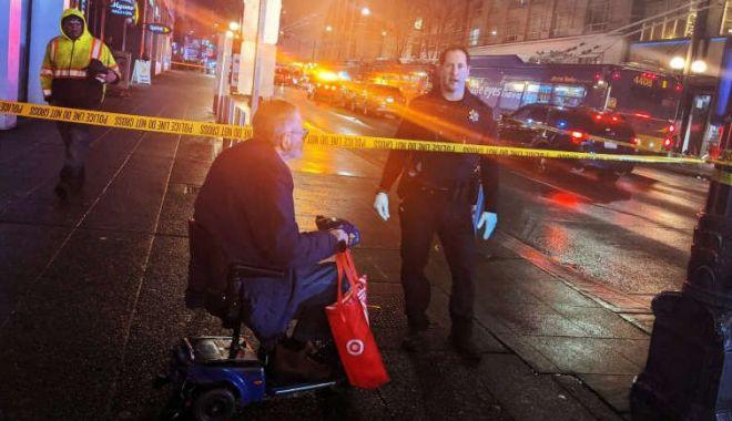 Foto: Atac armat în SUA. Suspectul a fugit