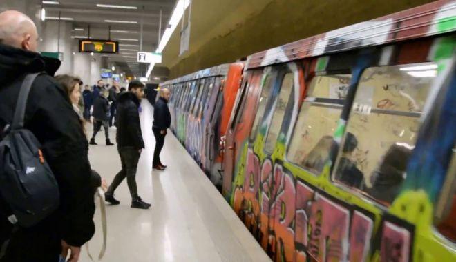 Foto: Incident la metrou! Poliția a reținut un suspect