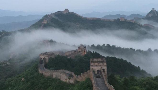 Foto: Epidemia din China: Marele Zid și Disneyland Shanghai, închise publicului!