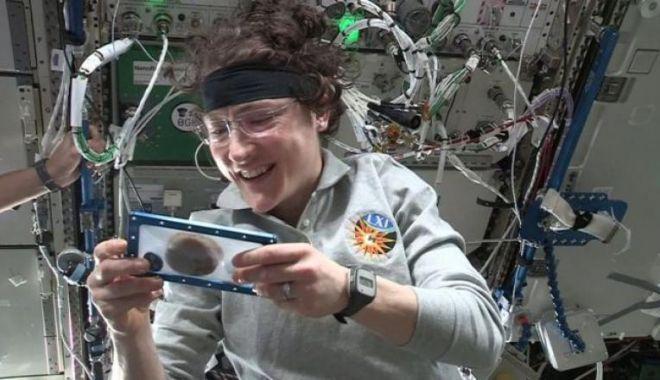 Foto: PREMIERĂ INEDITĂ! Biscuiți cu ciocolată, creați la bordul Stației Spațiale Internaționale