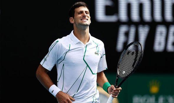 Foto: Novak Djokovic, în sferturi la Australian Open