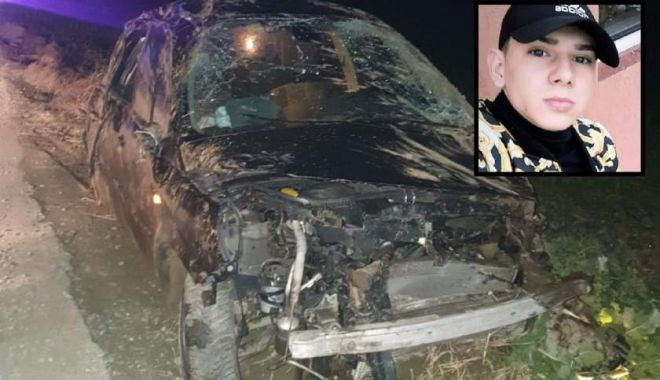 Foto: Accident groaznic din cauza vitezei. Prietenii nu l-au putut salva…