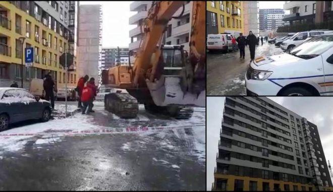 Foto: TRAGEDIE! S-a aruncat de la etajul 10, împreună cu fiica sa!