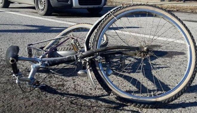 Foto: Biciclist accidentat pe bd. Lăpușneanu. Salvatorii intervin!