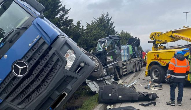 Foto: Român mort într-un accident de camion, în Belgia