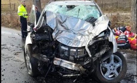 Foto: NU LĂSAȚI COPIII LA VOLAN! Familie îndoliată de o tragedie rutieră