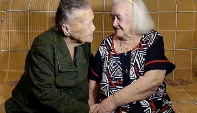 Foto: INCREDIBIL: S-au reîntâlnit după 78 de ani! Vezi povestea lor!