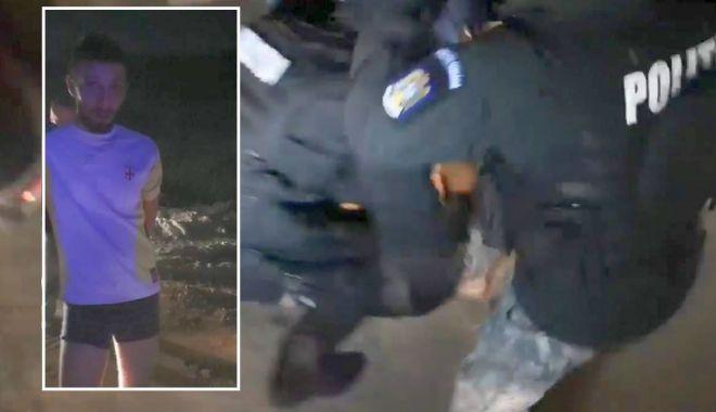 Foto: Șofer fără permis, drogat și în chiloți, alergat de poliție pe câmp. Nu avea nici asigurare RCA…