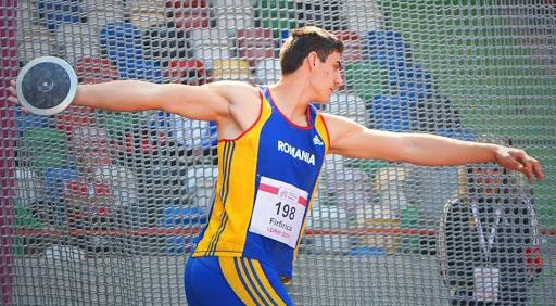 Foto: Discobol român, câștigător la concursul de atletism de la Berlin