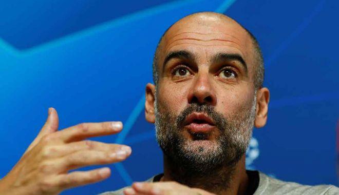 """Foto: Guardiola rămâne """"sută la sută"""" la Manchester City"""