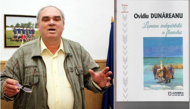 Foto: Scriitorul Ovidiu Dunăreanu lansează un roman senzațional