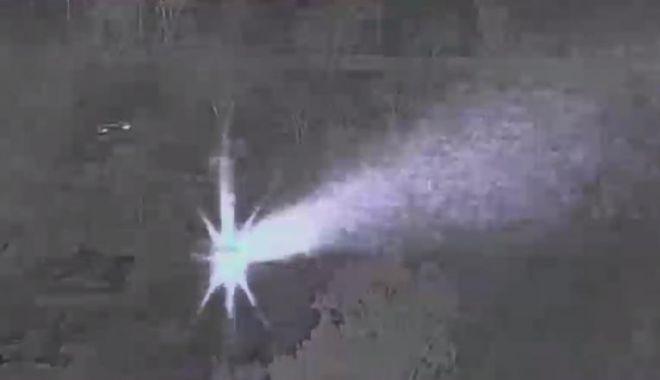 Foto: Elicopter de patrulă al Poliției, pus în pericol de un inconștient