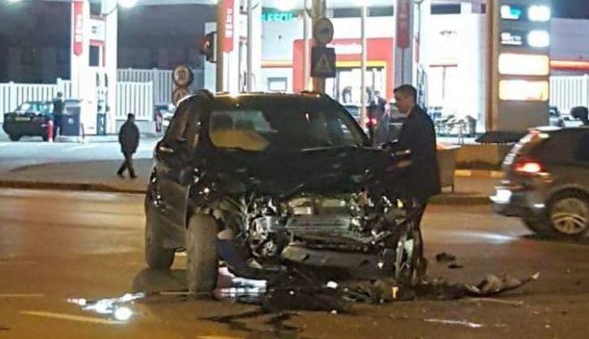 Foto: Primarul din Iași, implicat într-un accident rutier