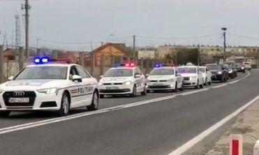 Foto: VIDEO / Acțiune a Poliției pe raza orașului Hârșova