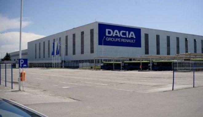 Foto: Dacia reia producția pe platforma industrială de la Mioveni