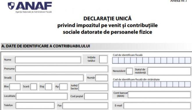 ANAF: Declarația unică se depune până la 25 mai 2020 - dddd-1582551570.jpg