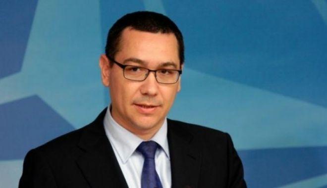 Foto: Victor Ponta cere un guvern de profesioniști