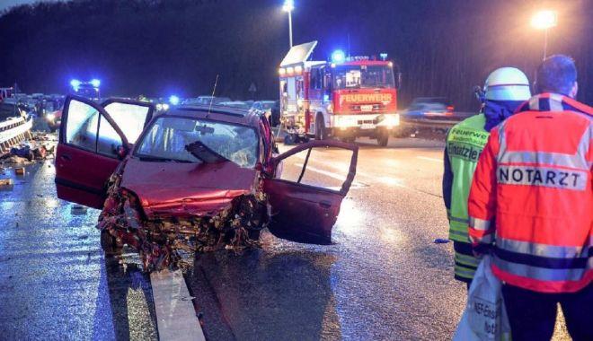 Foto: Româncă, victima unui GROAZNIC ACCIDENT RUTIER în Germania!