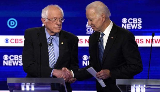 Foto: SUPER-MARȚI în alegerile democraților americani pentru candidatul la președinție