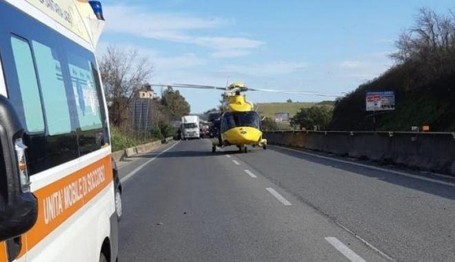 Foto: Poliția italiană, solicitată de o româncă pe stradă, pentru o urgență neașteptată!