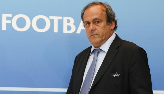 Foto: CEDO respinge apelul lui Platini la suspendarea dictată de FIFA