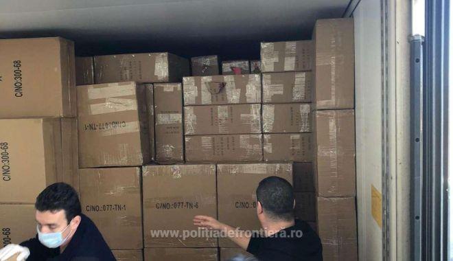 Foto: Marfă de 185.000 de euro, confiscată la frontieră. Suspiciuni de contrabandă!